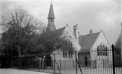 Photo of Holy Trinity School Circa 1920