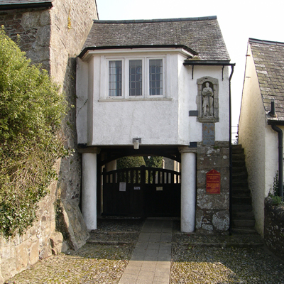 Lych-gate at Ilsington Church